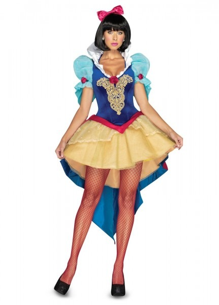 Deluxe Snow White Sexy Adult Costume