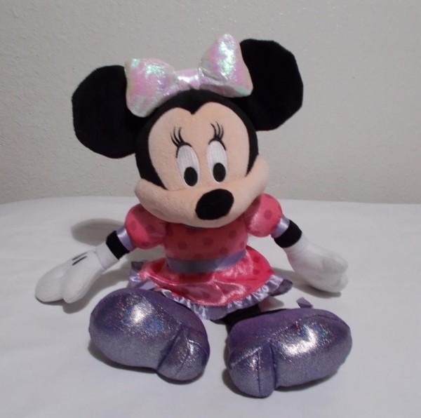 Minnie Mouse Talking Plush Light Up Bow 15  Tall