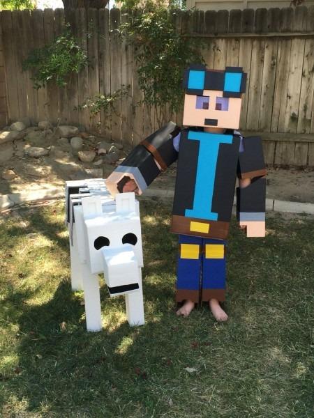 Minecraft Dantdm Costume