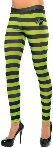 Wizard Of Oz Wicked Witch Of The West Costume Leggings Adult
