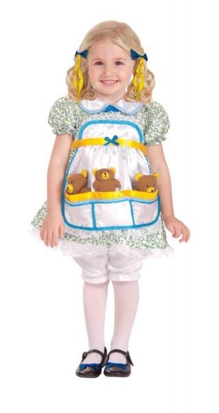 Goldilocks And The Three Bears Child Costume