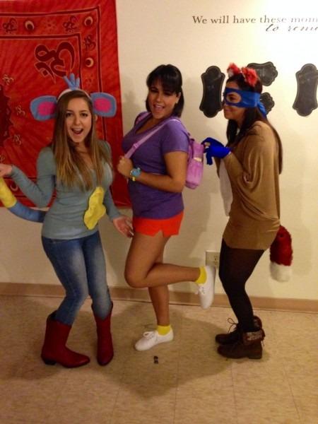 Dora The Explorer, Boots& Swiper!  Halloween  Costumes