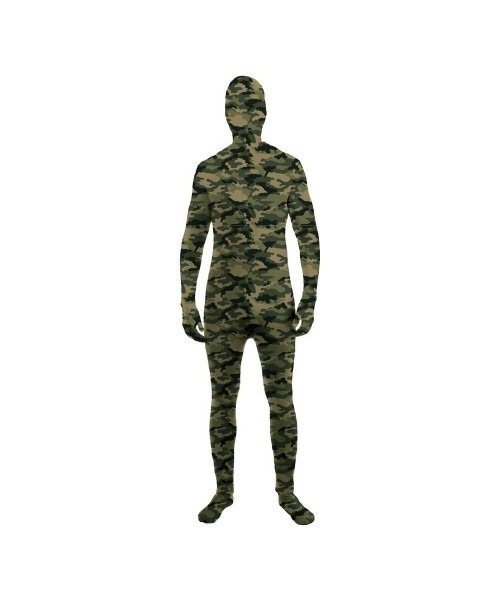 Camouflage Skin Suit Kids Costume