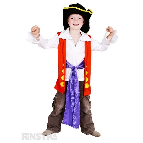 The Wiggles  Captain Feathersword Dress Up Costume