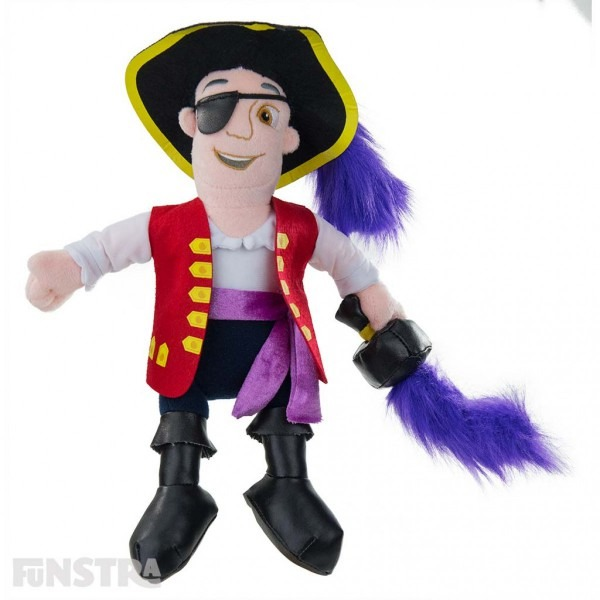 The Wiggles  Captain Feathersword Plush Soft Toy Doll