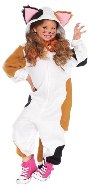 Cat Calico Kigurumi Onesie Child Costume