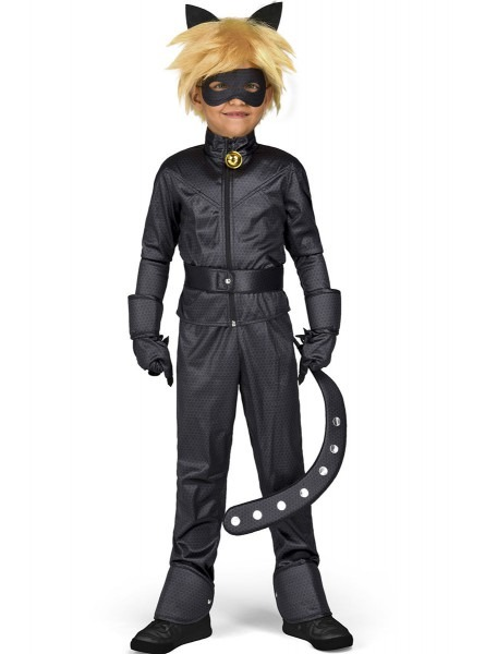 Cat Noir The Adventures Of Ladybug Costume For Kids  The Coolest