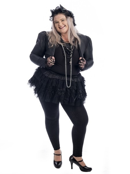 Madonna 80s Plus Size Costume