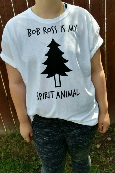 Bob Ross Is My Spirit Animal Tee Www Etsy Com Shop Pnwpridecompany