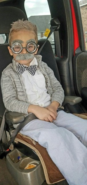 100th Day Of School  Old Man Little Kid Costume