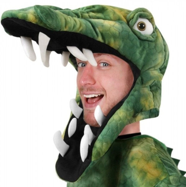 Adult Crocodile Hat Halloween Holiday Costume Party (size  Adult