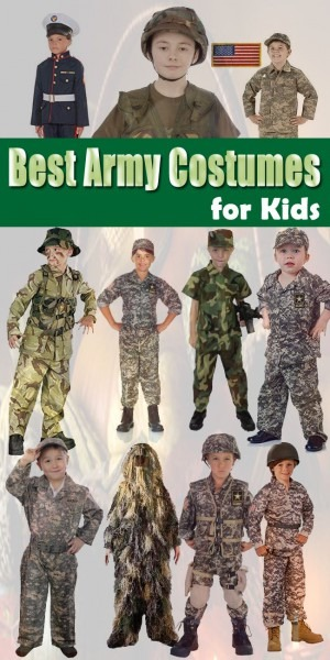 Best Army Costumes For Kids