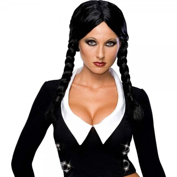 Deluxe Wednesday Addams Wig
