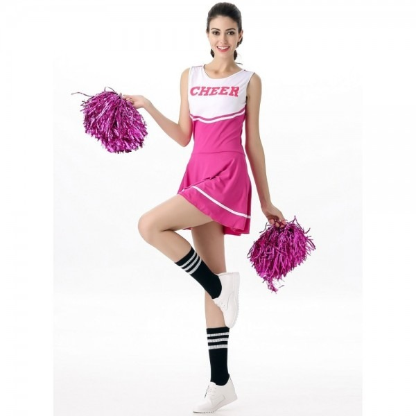 Cheerleader Costume For Adults Cheer Girls Uniform Sexy Sports