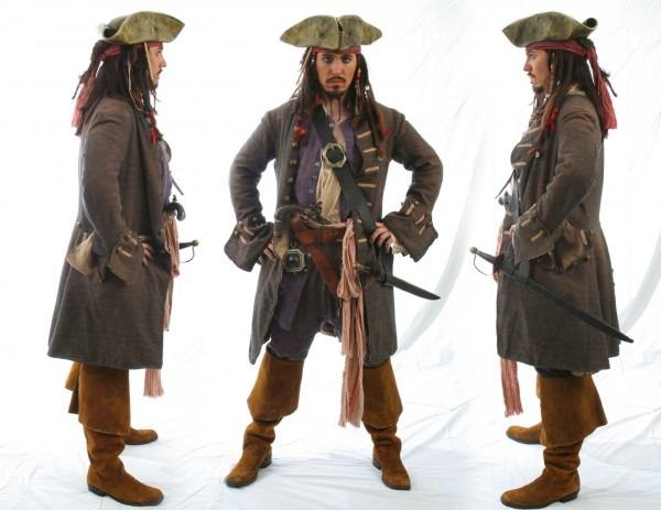 Jack Sparrow Costume Compairison