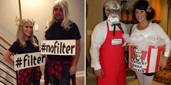 Couples Share Their Best Halloween Costumes, And They're