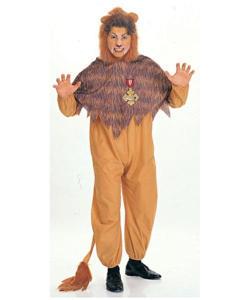 Lion Cowardly Adult Costume