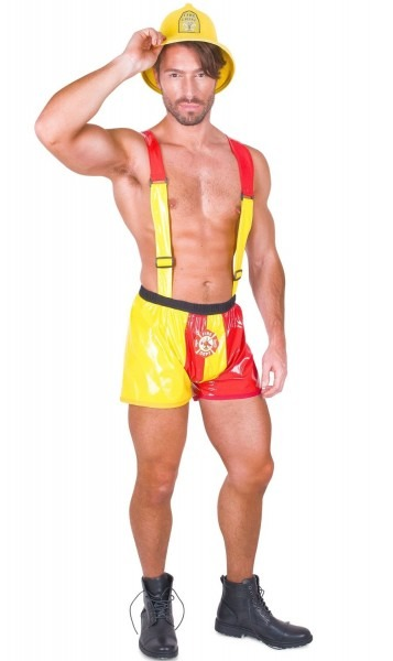 Fire Fighter Sexy Men's Costume