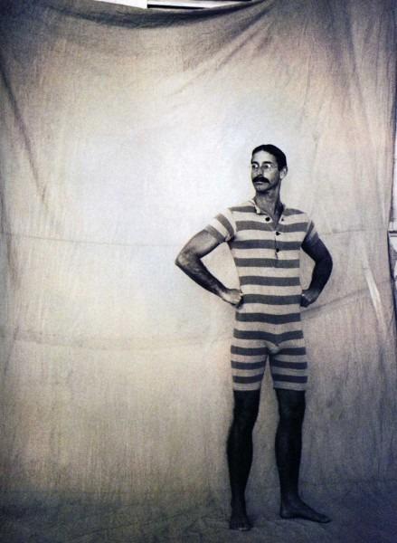 Mens 1920s Swimsuit