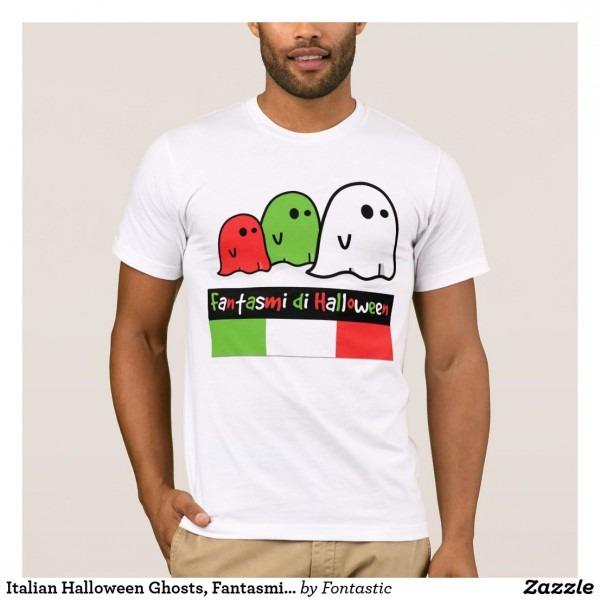 Italian Halloween Ghosts, Fantasmi Di Halloween T