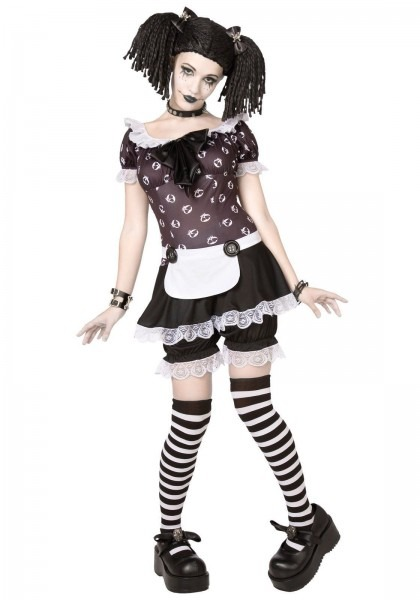 Adult Plus Size Gothic Rag Doll Costume In 2018