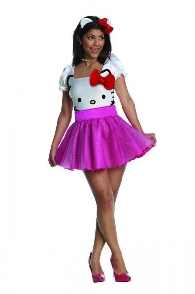 Hello Kitty Costume Dress Adult