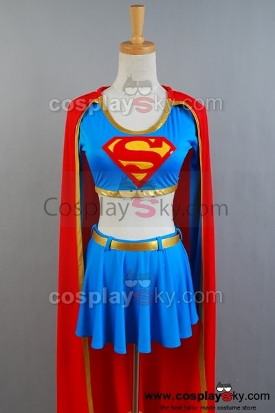 Dc Comics Supergirl Cosplay Costume Separated Version