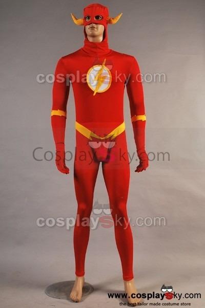 Dc Comics The Flash Jumpsuit Cosplay Costume