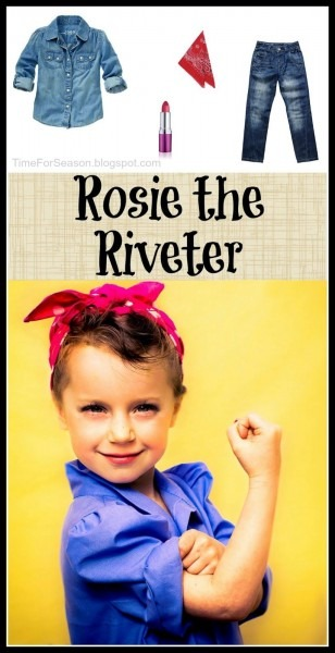 Easy Rosie The Riveter Costume  18 Costumes You Already Have In