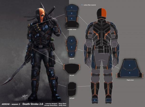 26 Slade Wilson Arrow Costume, 1000 Ideas About Deathstroke
