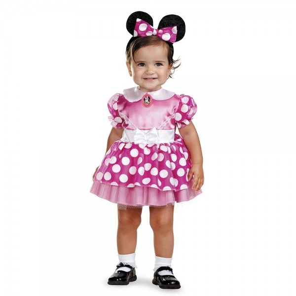 Kids Disney Pink Minnie Mouse Toddler Costume