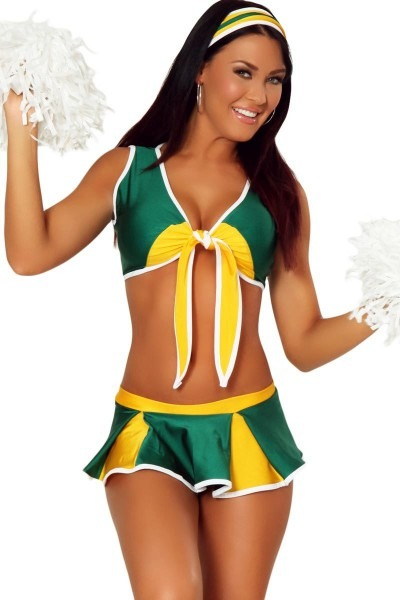 Sexy Winning Cheerleader Halloween Costume For Women