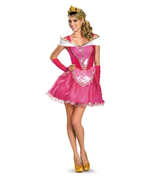 Adult Aurora Disney Princess Costume