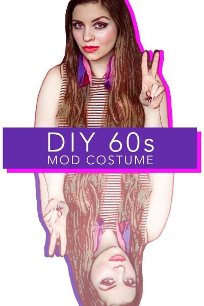 Diy 60s Mod Costume Halloween Twiggy Inspired 15 Outfit