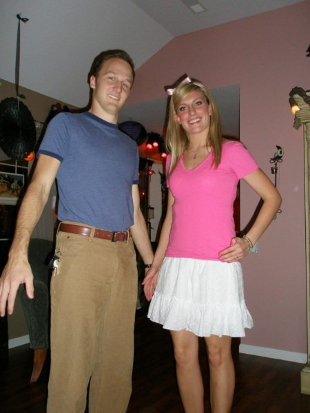 Diy Couple Halloween Costumes Katie In Kansas Couples Costume