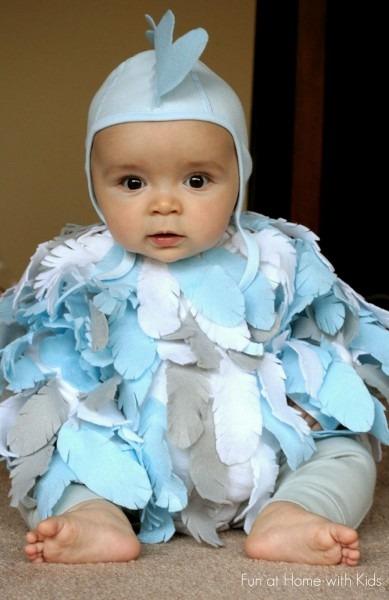 Diy No Sew Baby Chicken Halloween Costume Ideas Of Cute Toddler