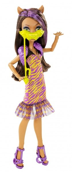 Monster High® Welcome To Monster High Clawdeen Wolf® Doll