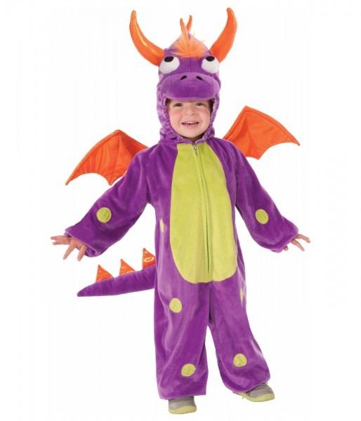 Purple Dragon Toddler Monster Costume
