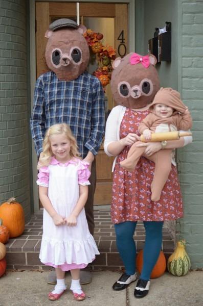 Trick Or Treat  Goldilocks And The Three Bears
