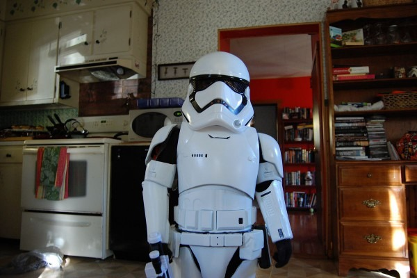 How To Turn A Stormtrooper Toy Into A Kid