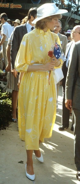 British Royal Tour Of Australia Princess Diana Matched The Sunny