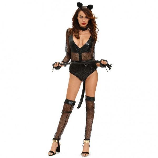 D8985 Sexy Midnight Cat Costume