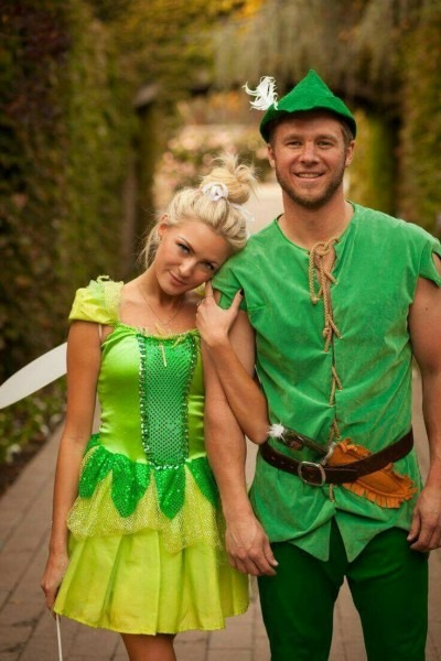 Peter Pan And Tinkerbell ~couples Costume Idea