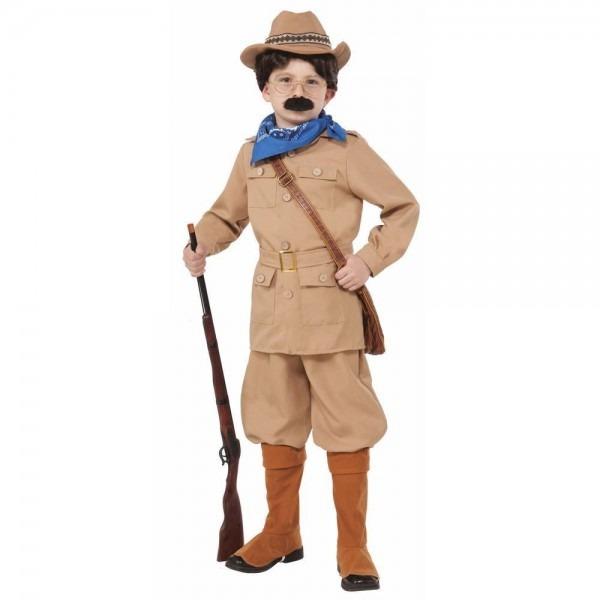 Child Theodore Teddy Roosevelt President Rough Rider Halloween