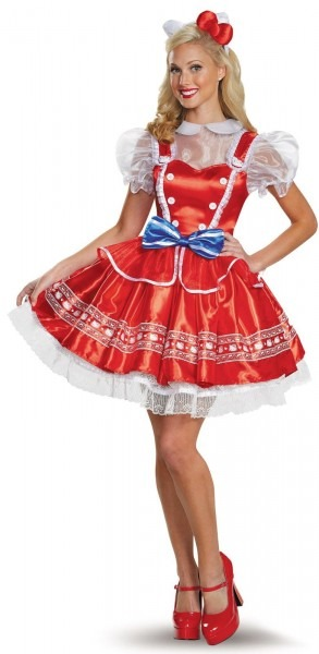 Authentic Hello Kitty Costume For Women