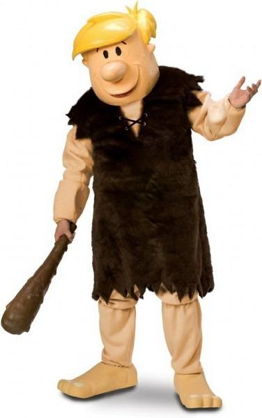 Barney Rubble Mascot Costume  Flintstones