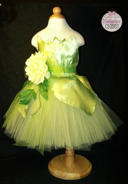 New Orleans Princess Tutu, Tiana Dress Up Costume, Princess Tiana
