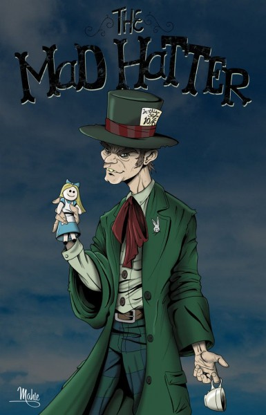 Mad Hatter By  Mikemahle On Deviantart