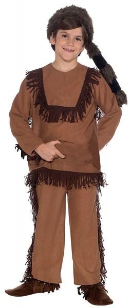 Forum Novelties Davy Crockett Child's Costume, Large