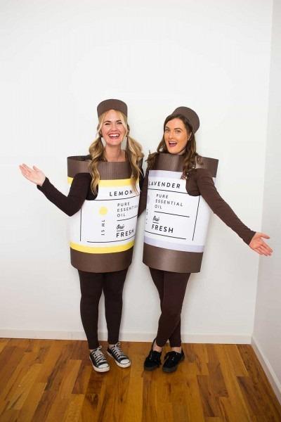 Essential Oil Halloween Costume